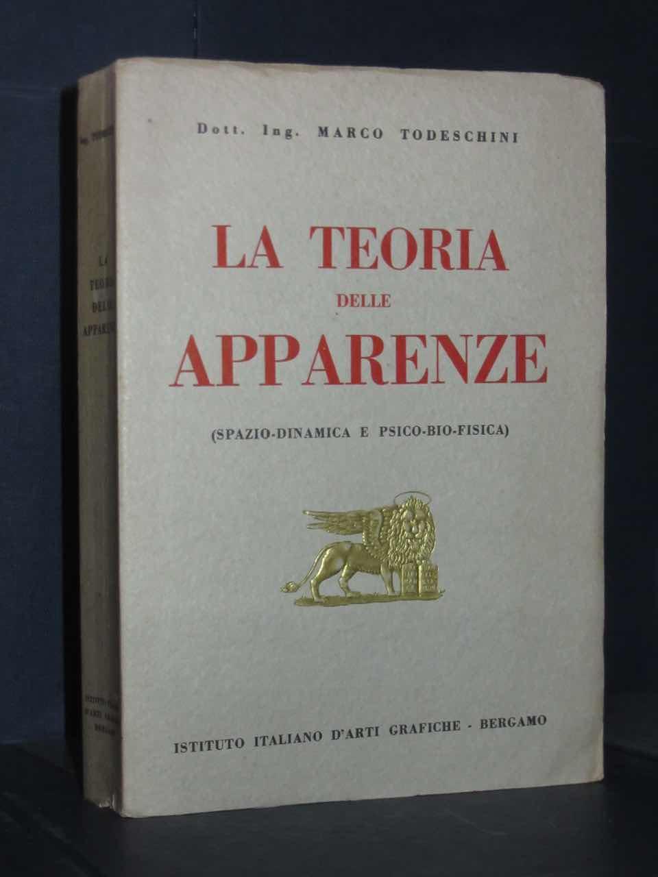 Marco todeschini la teoria delle apparenze istituto for Istituto italiano